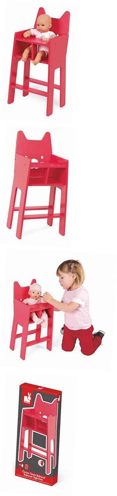 Dollhouse Size 19179: Babycat Pink High Chair -> BUY IT NOW ONLY: $48.58 on eBay!