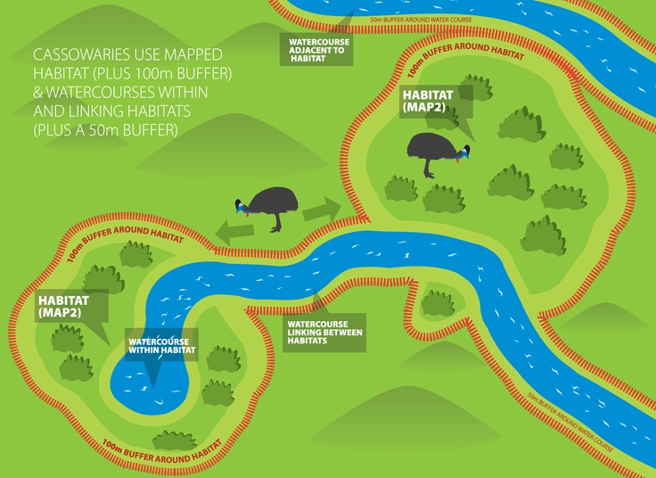 Cassoway Mapped Habitat