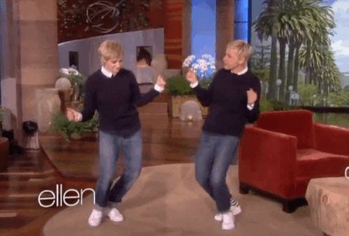 Kate McKinnon Does Her Impression Of Ellen Degeneres On The Ellen Show