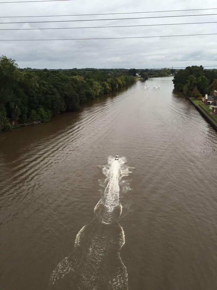 Fun on the Intracoastal Waterway Houma Louisiana