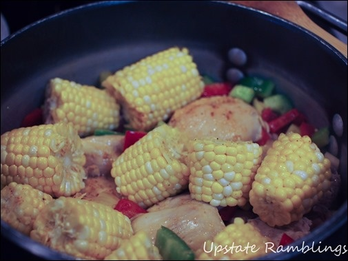 Cajun Corn and Chicken