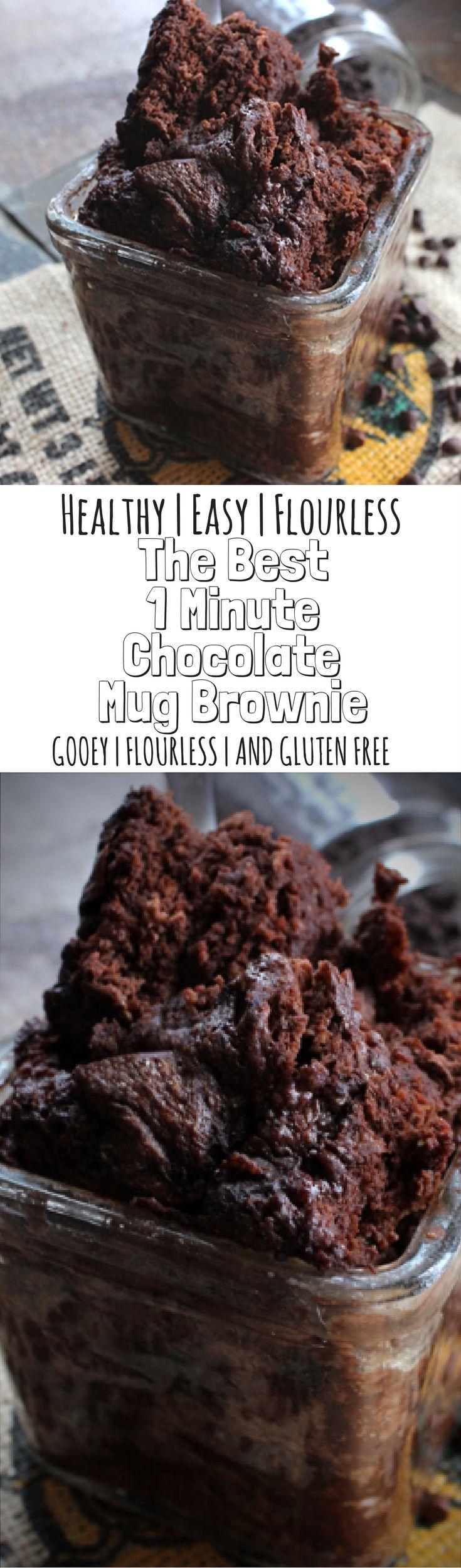 Healthy 1 Minute Mug Brownie Recipe Naughty Foods