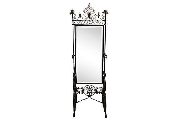 Victorian   Floor Mirror on OneKingsLane.com