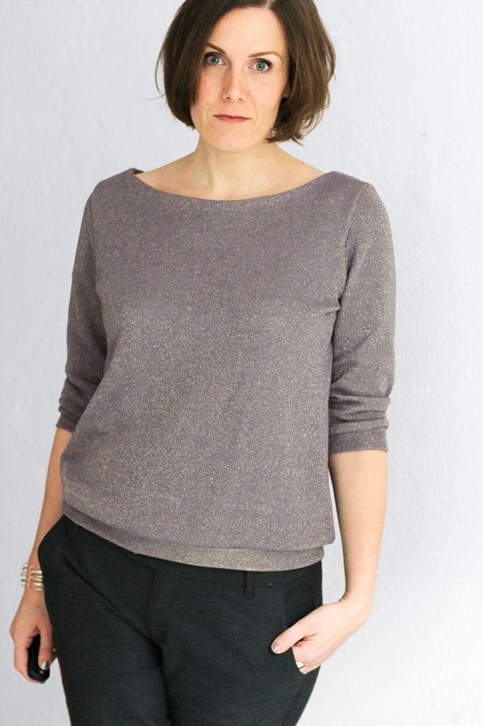 Glitzersweater Aster - La Maison Victor - Schneidersitz