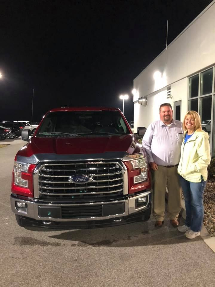 congratulations cary and laurie have fun in your ford f 150 drive safe and thank you from cloide and everyone at st ford trucks chrysler chrysler dodge jeep pinterest