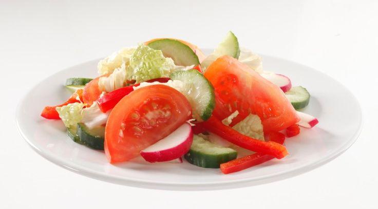 Салат овощной пирог