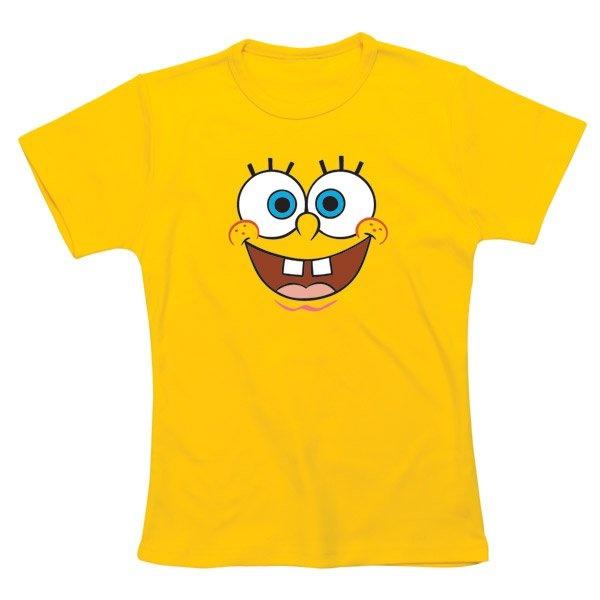 T-Shirt Bob l'éponge, celui-ci n'hésite pas à utiliser son charme pour satisfaire les femmes ;) #logostore #bobleponge