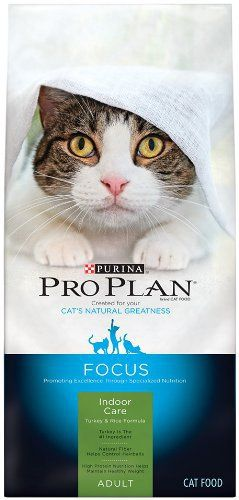 Pay extra attention to your indoor cat's nutritional needs when you serve Purina Pro Plan FOCUS Indoor Care Turkey & Rice Formula adult dry cat food. This recipe features high-protein nutrition to help her maintain a healthy weight, and it contains high-quality protein sources,... more details available at https://perfect-gifts.bestselleroutlets.com/gifts-for-pets/for-cats/product-review-for-purina-pro-plan-focus-adult-indoor-care-turkey-rice-formula-dry-cat-food-1-1