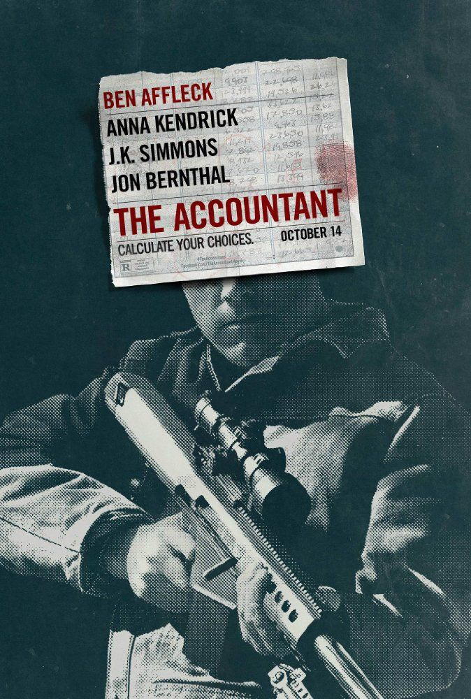 The Accountant (2016) Film Poster