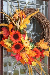 Crescent City Ramblings: Fall Wreath DIY