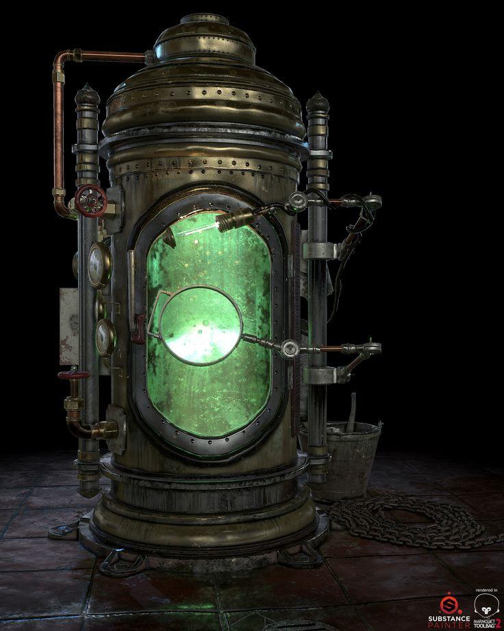 Steampunk Incubator, Raphael Jean
