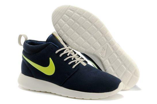 Kengät Nike Roshe Run Miehet ID High 0006 [Kengät Malli M00276] - €64.99 : , billig nike sko nettbutikk.