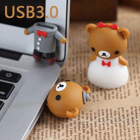 USB 3.0 Pen Drive 64GB USB Flash Drive 128GB 256GB 512GB Pendrives Usb Memory Stick 32GB 16GB 3D Cartoon Creative Wedding Gift //Price: $8.99 & FREE Shipping //     #hashtag2