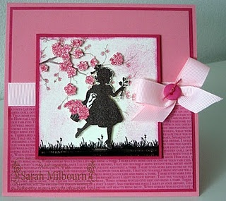 Easter Blossoms  Silhouette idea. Really cute.