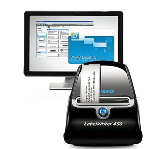 Label-Printer-Thermal-Dymo-Labelwriter-450-Writer-Brand-Direct-Free-Shipping