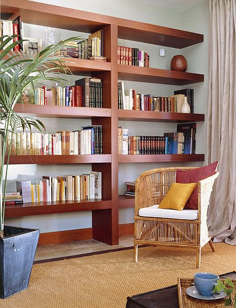 Living Room Library Design Ideas: 1000+ Images About Built-ins, Bookcases, Room Dividers