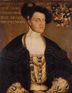 """Philipp I of Hesse (known as """"Philipp The Magnanimous""""), Landgrave of Hesse, 1504-1569"""