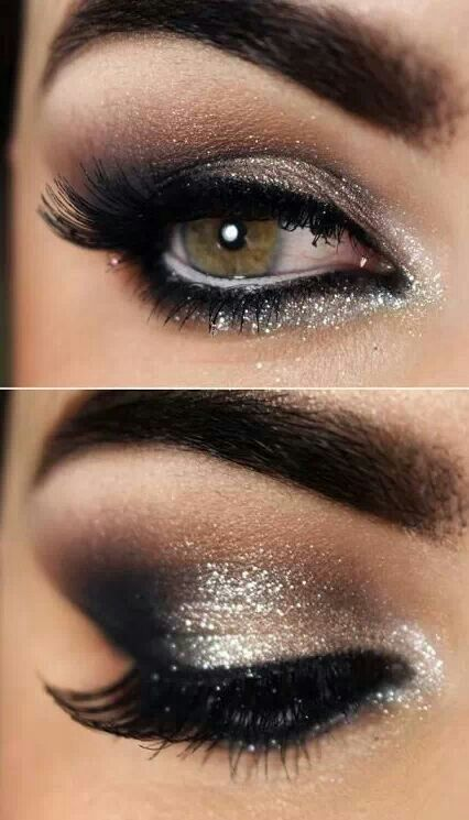 Sparkly Smoky Eye