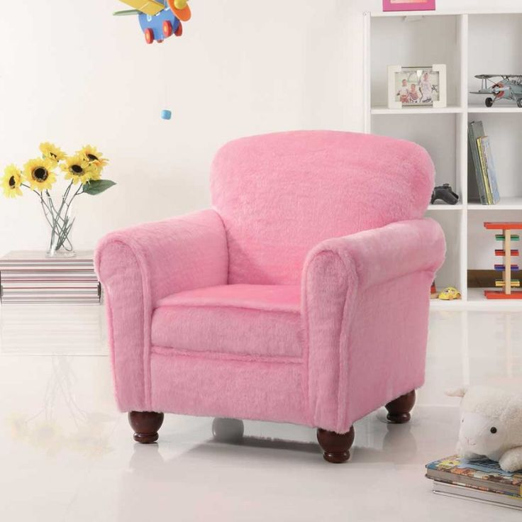Coaster Pink Traditional Kids Chair