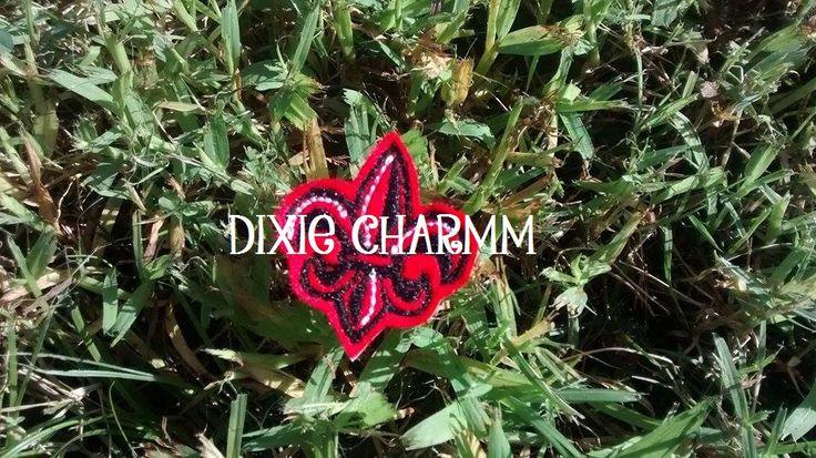 Fleur de Lis University of Kentucky Applique/Patch/Feltie/Iron on by DixieCharmm on Etsy