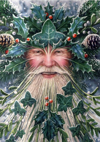 Paganism and Christmas ~ Can you recognize this guy without his modern red and white....... ? Do a little research and BREAK FREE !!! It's life or death, your choice