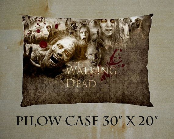 New Cool Bedding Pillow Case 30 X 20 The WALKING DEAD by PSklang, $13.99