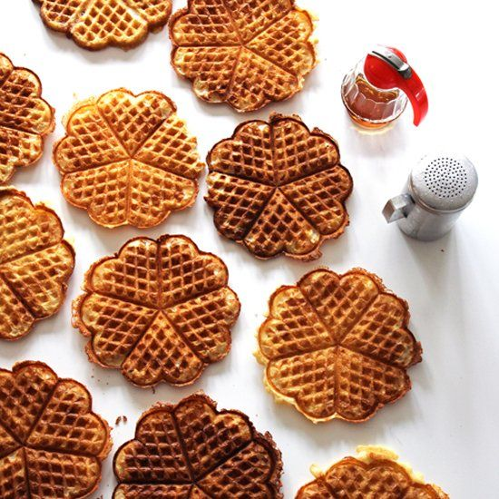 Brown Butter Yeast Waffles | Inspired by Food | Pinterest