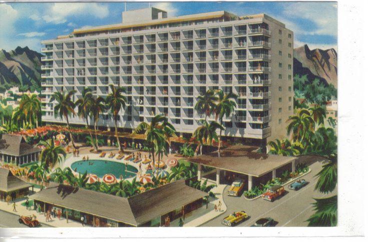 Princess Kaiulani Hotel - Hawaii - Cakcollectibles