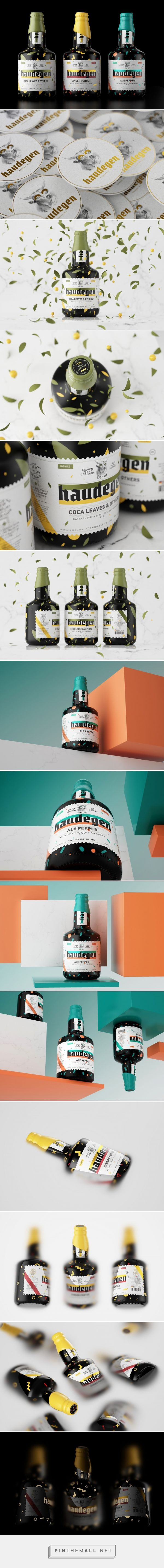 Haudegen Beer packaging design by Constantin Bolimond - http://www.packagingoftheworld.com/2017/02/haudegen-beer.html