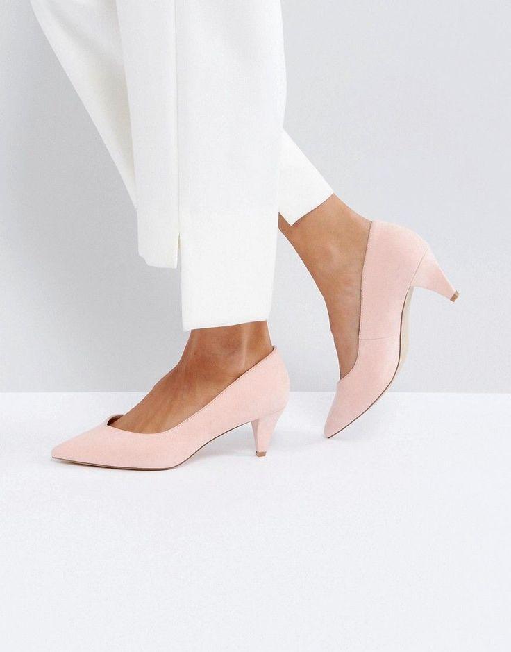 ASOS SALSA Kitten Heels - Pink