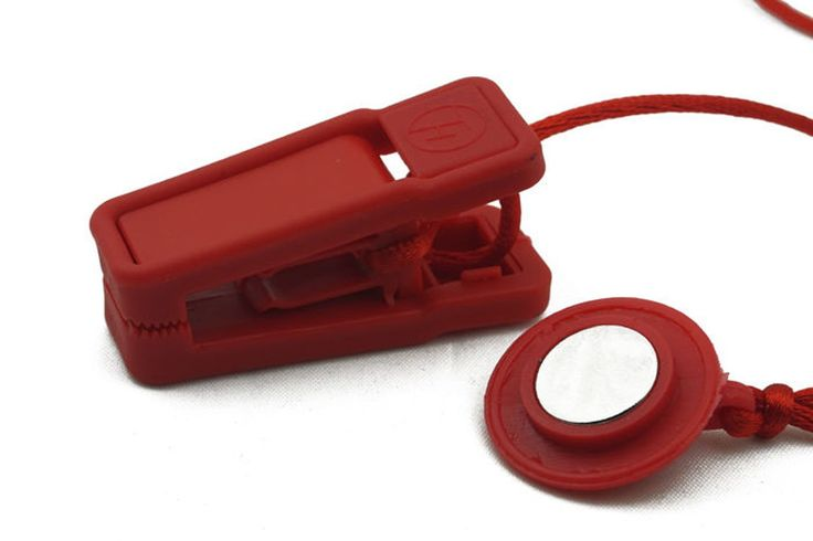 Generic Universal Safety Key Magnetic Lock For Electric Treadmill Jogging Exercise Running Machine Red. Fits for most treadmill:Fit to a wide variety of treadmill brands.