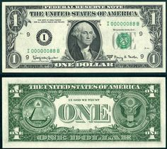 1963A $1 Federal Reserve Note Low Number S/N I 00000088 B Luky Eighty Eight 88 EPALN eBay 8-2012