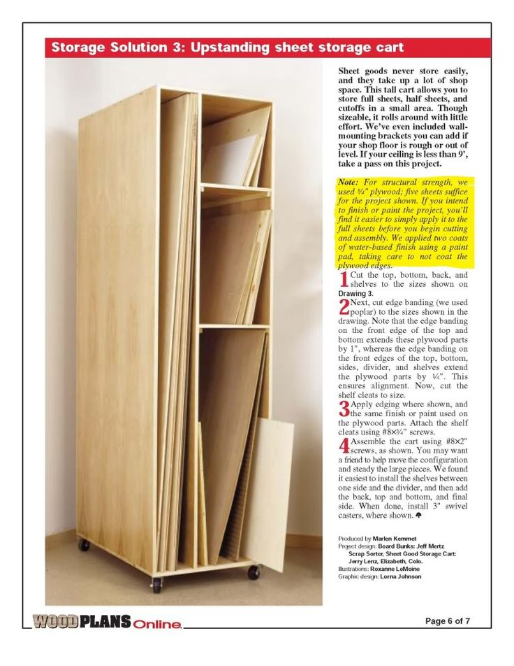 425 best images about french cleat on pinterest storage for Sheet goods cart