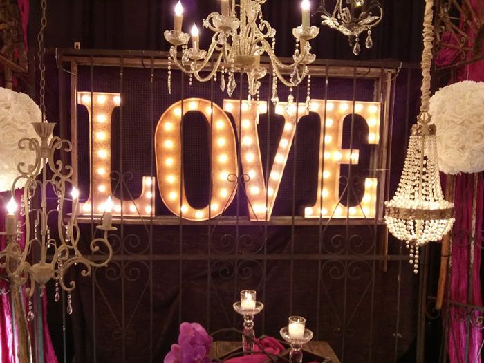 Makin' loooove…letters! As in L.O.V.E, sheesh! Just look below and see what I mean… We saw these marquee letters at a wedding expo and immediately thought they'd be awesome to have at our wedding. But renting them from a wedding decor company would be hella expensive, so my engineer fiance got to work! First we […]