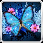 Papillon Brillant Fond D'écran