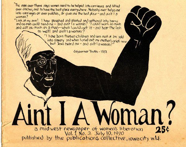 aint i a woman The sojourner truth project explores the different versions of the ain't i a woman speech and seeks to offer a more truthful picture of sojourner's words, her accent, her heritage and her distinct voice with a collection of videos of women reading truth's speech in.