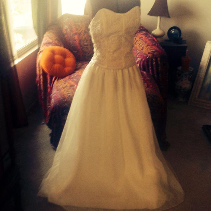 Vintage Jessica McClintock Wedding Dress by Susiessecretvintage
