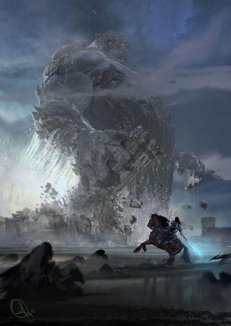 Colossus by Alejandro Olmedo | Fantasy | 2D | CGSociety