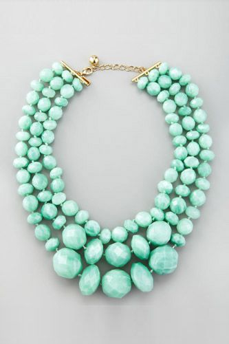 Kate Spade necklace...I was going to pin it b4 I saw who made it...no surprise I love it