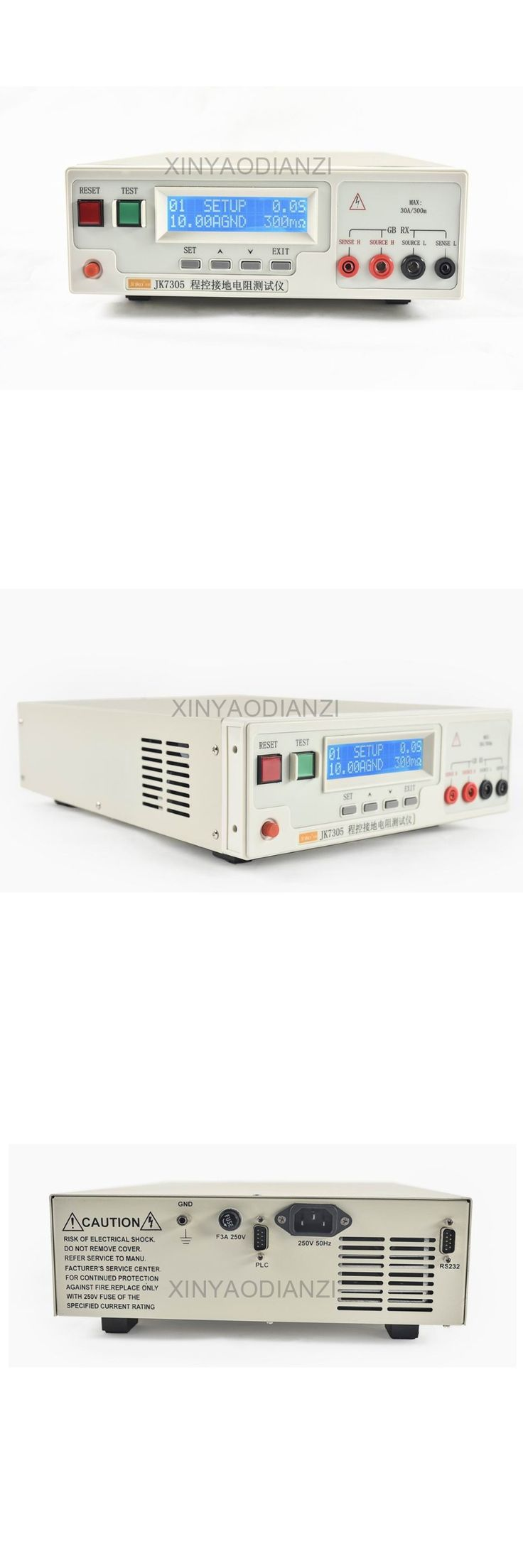 ChangZhou JinKo JK7305  Grounding Resistance Tester,High Precision ,Standard RS232 And Plc Interface