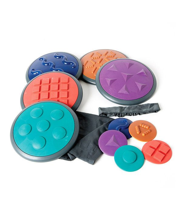 Take a look at this Tactile Disc Set on zulily today!