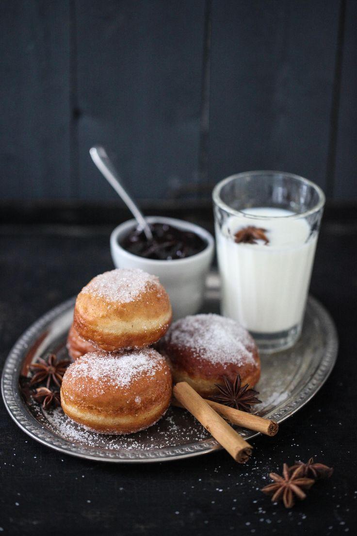 Die ist Rezept für Spekulatiusberliner / spekulaas donut recipe / Adventsgebäck / Backen mit Spekulatiusgewürz / Weihnachtsbäckerei / Zuckerzimtundliebe
