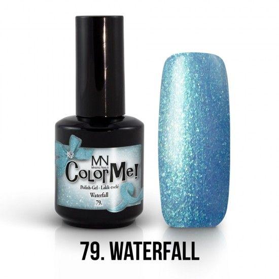 ColorMe! no.79. - Waterfall 12ml gel polish lakkzselé gél lakk nail art mystic nails