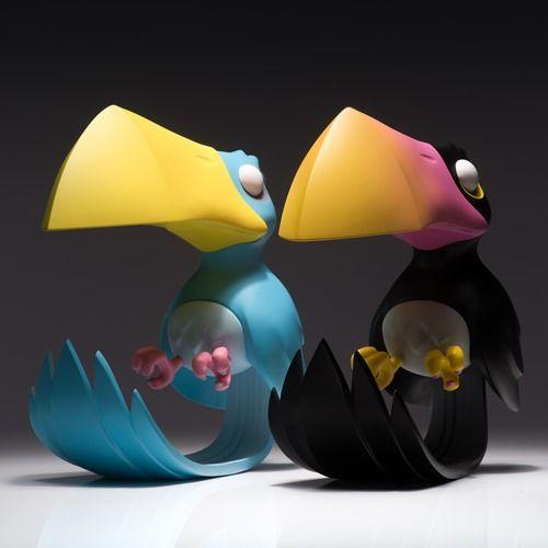 """Cancan: Este par de tucanes de 9"""" diseñados por Coarse estarán a la venta el 5 de Enero de 2016..."""