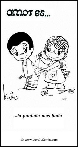 #Amores ...la puntada mas linda