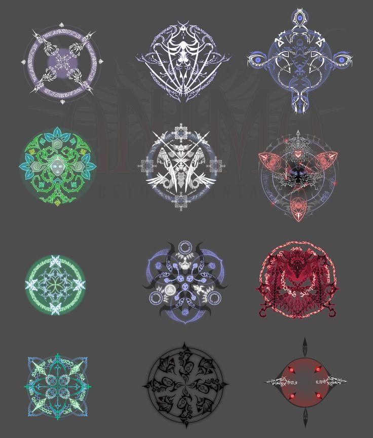 Anima: snowflakes, may be by Wen-M.deviantart.com on @deviantART