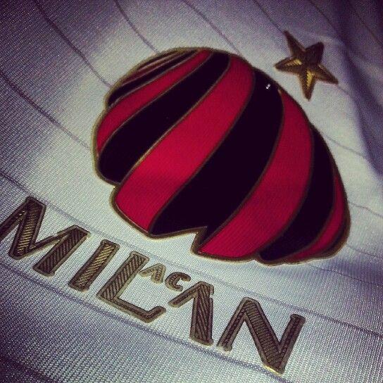 AC Milan away jersey 2014/2015 with Casa Milan crest.