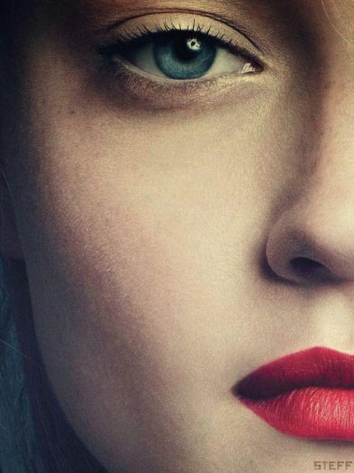 Lips, Nice Makeup And