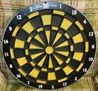 Nice Arachnid Dart Board Soft Tip 18 inch Made In USA patent 1987 FREE SHIPPING - 1987, Arachnid, Board, Dart, FREE, Inch, Made, NICE, Patent, SHIPPING, Soft