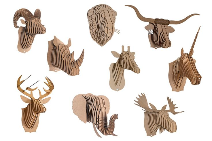 free cardboard taxidermy templates - 10 best images about deer head on pinterest diy